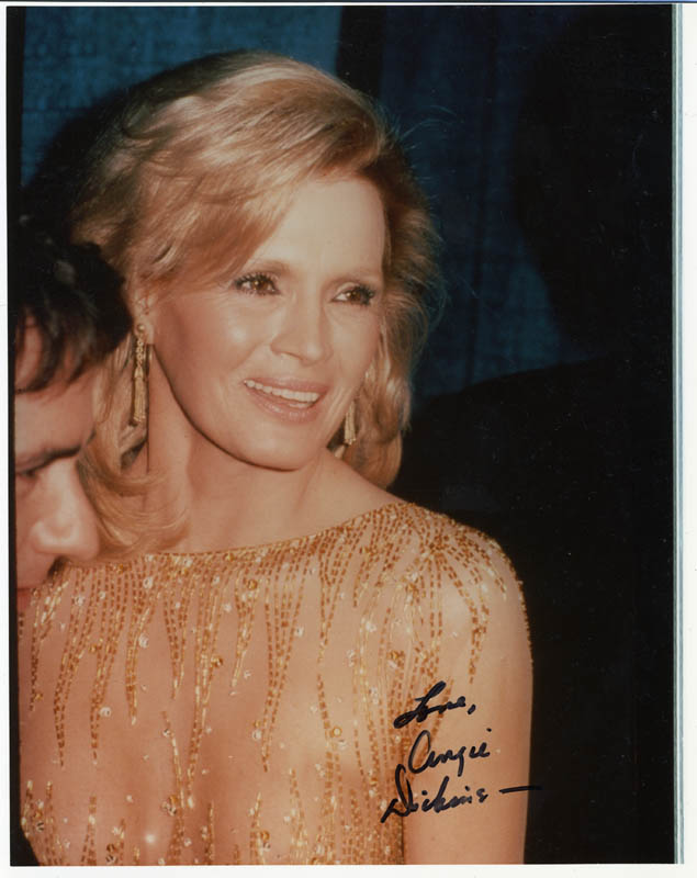 Image 1 for Angie Dickinson - Autographed Signed Photograph - HFSID 274311