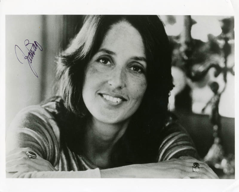 Image 1 for Joan Baez - Autographed Signed Photograph - HFSID 274637