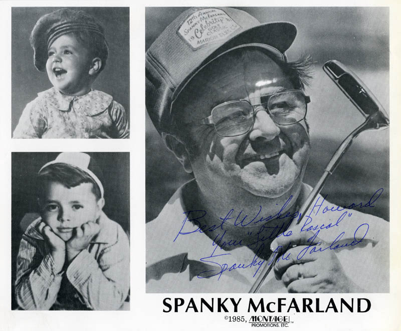 Image 1 for Spanky Mcfarland - Autographed Inscribed Photograph - HFSID 274642