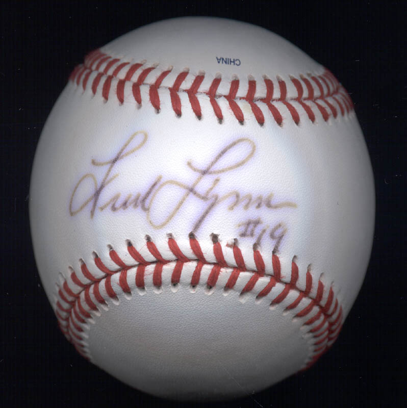 Fred Lynn - Autographed Signed Baseball | HistoryForSale Item 274745