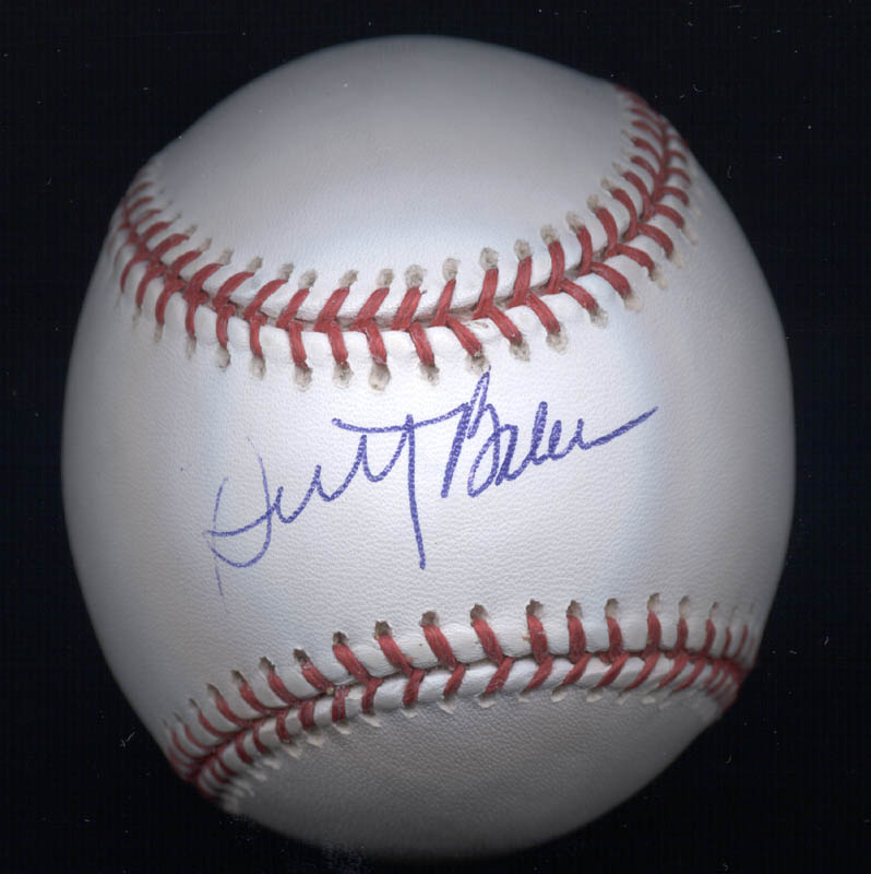 Image 1 for Dusty Baker - Autographed Signed Baseball - HFSID 274773
