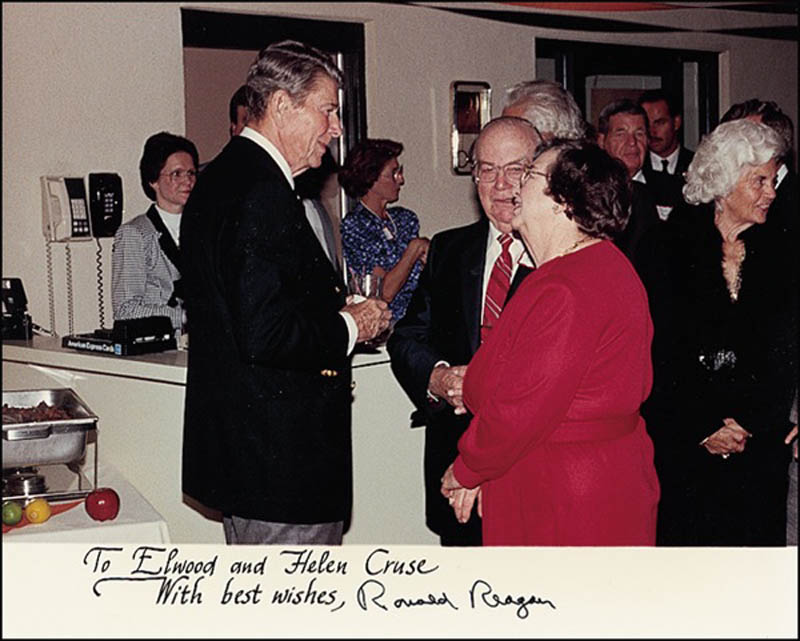 Image 1 for President Ronald Reagan - Autographed Inscribed Photograph - HFSID 274860
