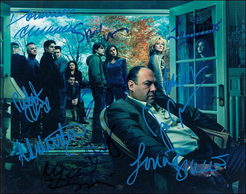 Image 1 for The Sopranos TV Cast - Autographed Signed Photograph with co-signers - HFSID 274888