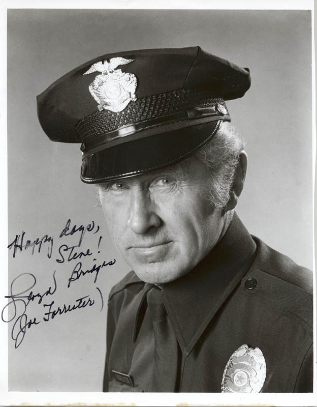 Image 1 for Lloyd Bridges - Autographed Inscribed Photograph - HFSID 274889