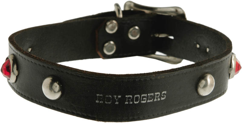 Image 3 for Roy Rogers - Dog Collar Unsigned - HFSID 274940