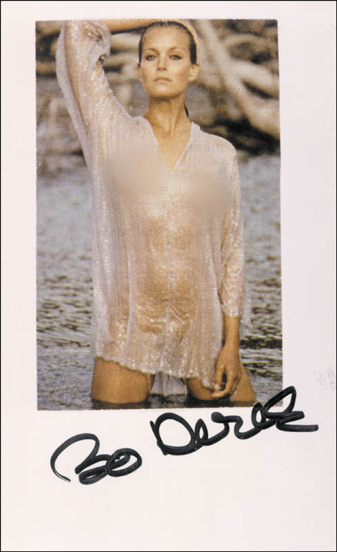 Image 1 for Bo Derek - Autographed Signed Photograph - HFSID 275058