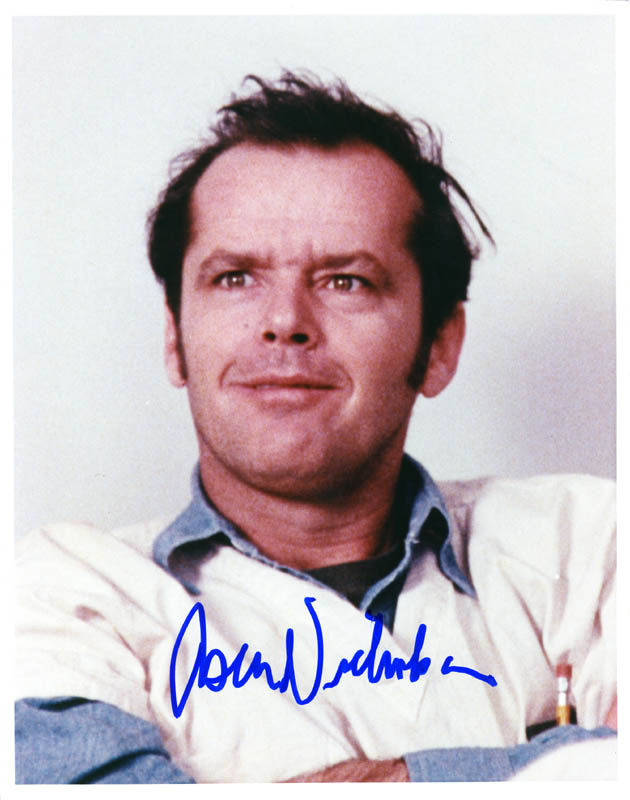 Image 1 for Jack Nicholson - Autographed Signed Photograph - HFSID 275098