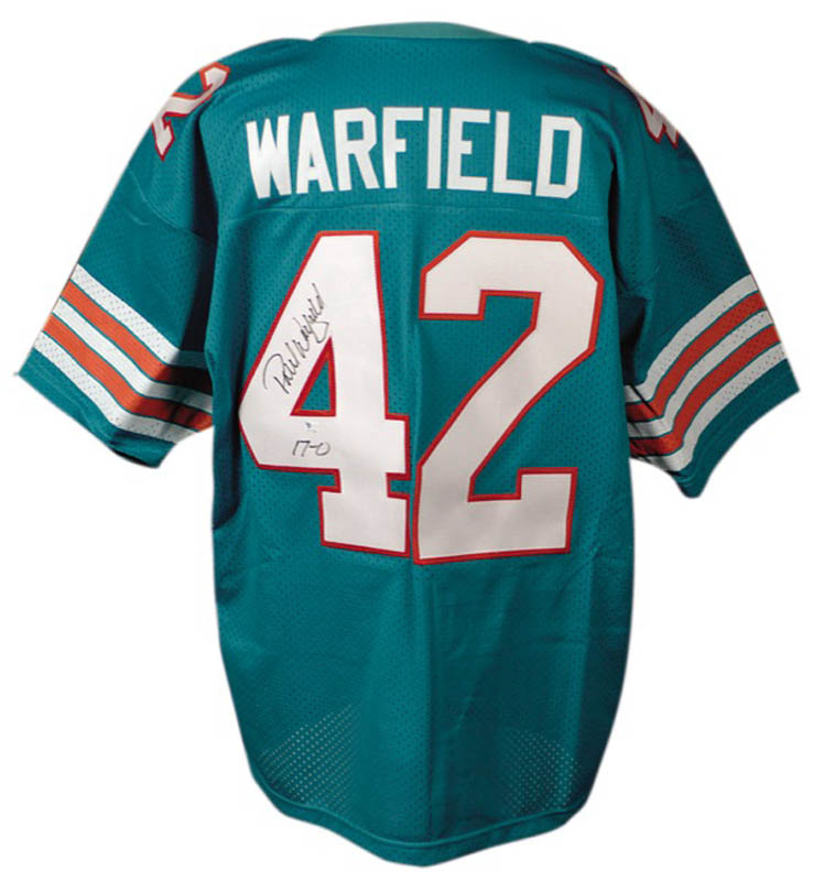 Image 1 for Paul Warfield - Jersey Signed - HFSID 275284