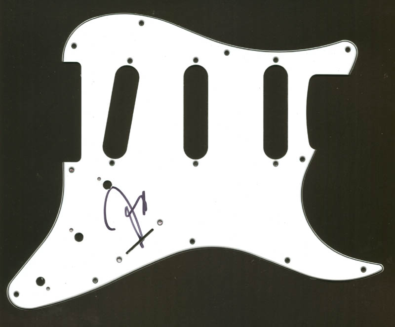 Image 1 for The Doobie Brothers (Jeff Baxter) - Pick Guard Signed - HFSID 275315