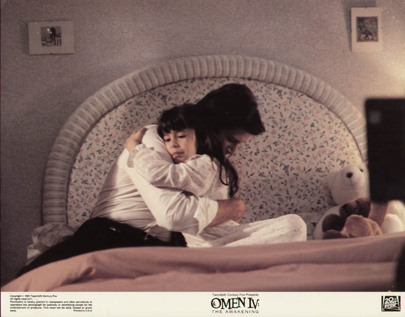 Image 1 for Omen Iv: The Awakening Movie Cast - Lobby Card Unsigned (Usa) 1991 - HFSID 275486