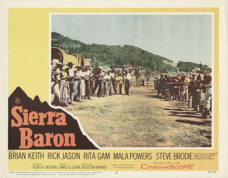 Image 1 for Sierra Baron Movie Cast - Lobby Card Unsigned (Usa) 1958 - HFSID 275538