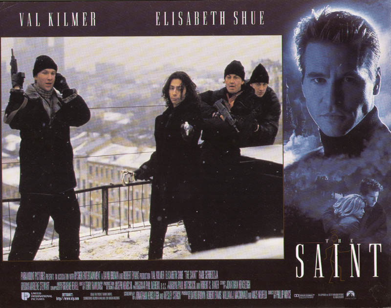 Image 1 for The Saint Movie Cast - Lobby Card Unsigned (Usa) 1997 - HFSID 275561