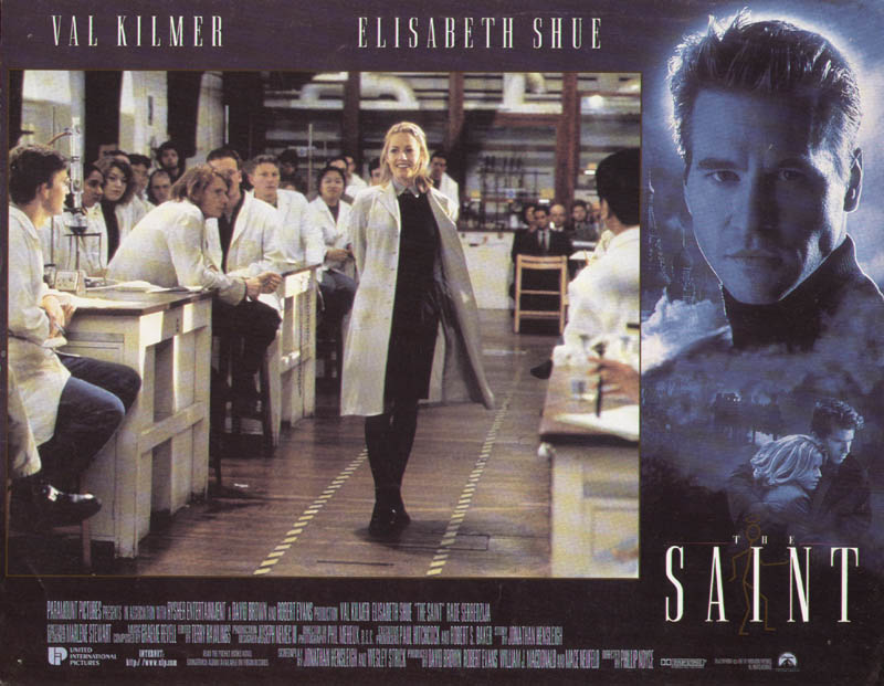 Image 1 for The Saint Movie Cast - Lobby Card Unsigned (Usa) 1997 - HFSID 275563