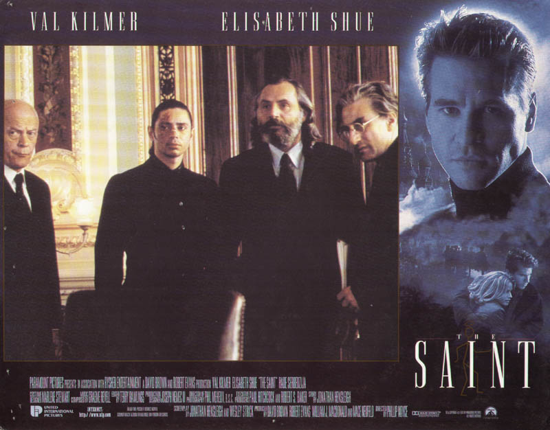 Image 1 for The Saint Movie Cast - Lobby Card Unsigned (Usa) 1997 - HFSID 275564