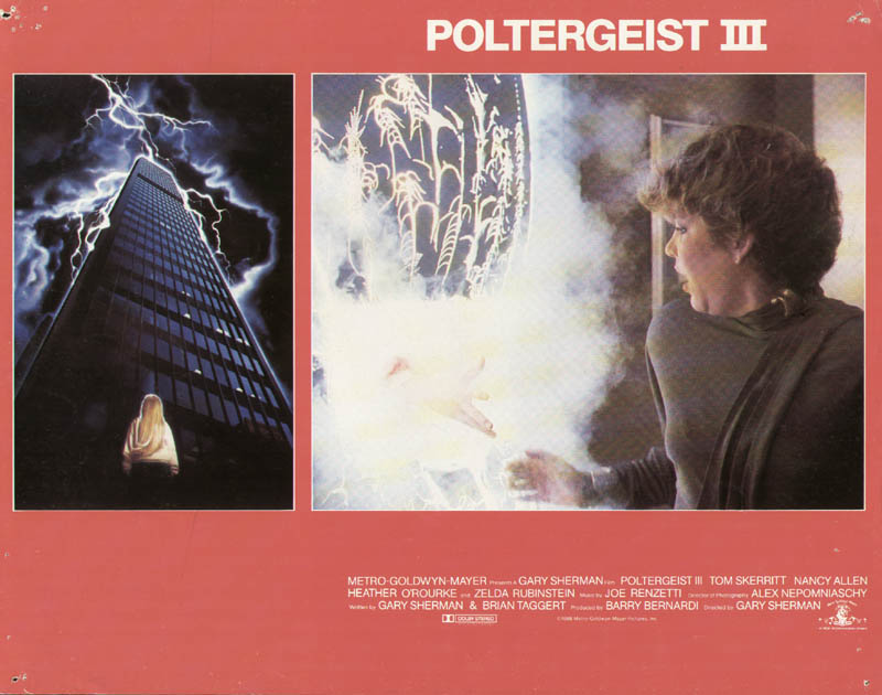 Image 1 for Poltergeist III Movie Cast - Lobby Card Unsigned (Usa) 1988 - HFSID 275579