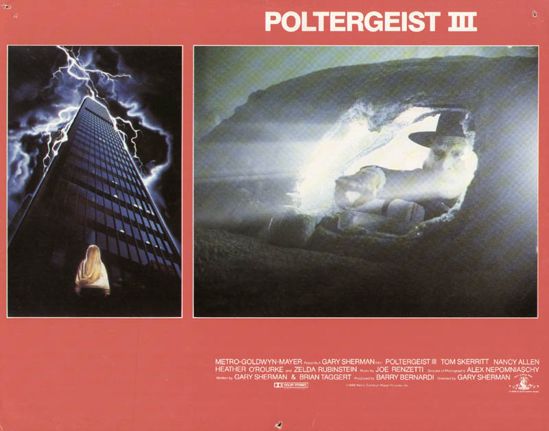 Image 1 for Poltergeist III Movie Cast - Lobby Card Unsigned (Usa) 1988 - HFSID 275580