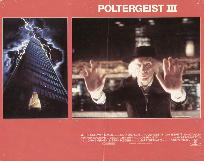 Image 1 for Poltergeist III Movie Cast - Lobby Card Unsigned (Usa) 1988 - HFSID 275581