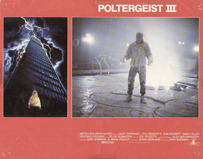 Image 1 for Poltergeist III Movie Cast - Lobby Card Unsigned (Usa) 1988 - HFSID 275582