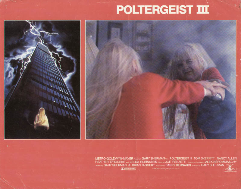 Image 1 for Poltergeist III Movie Cast - Lobby Card Unsigned (Usa) 1988 - HFSID 275583