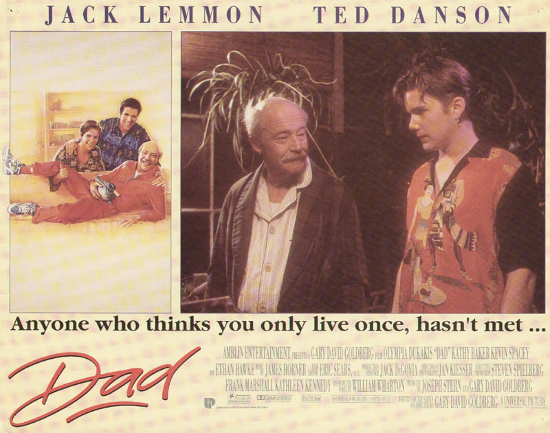 Image 1 for Dad Movie Cast - Lobby Card Unsigned (Usa) 1989 - HFSID 275603