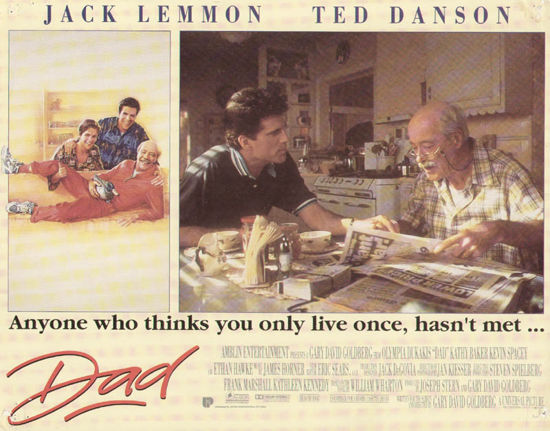 Image 1 for Dad Movie Cast - Lobby Card Unsigned (Usa) 1989 - HFSID 275608