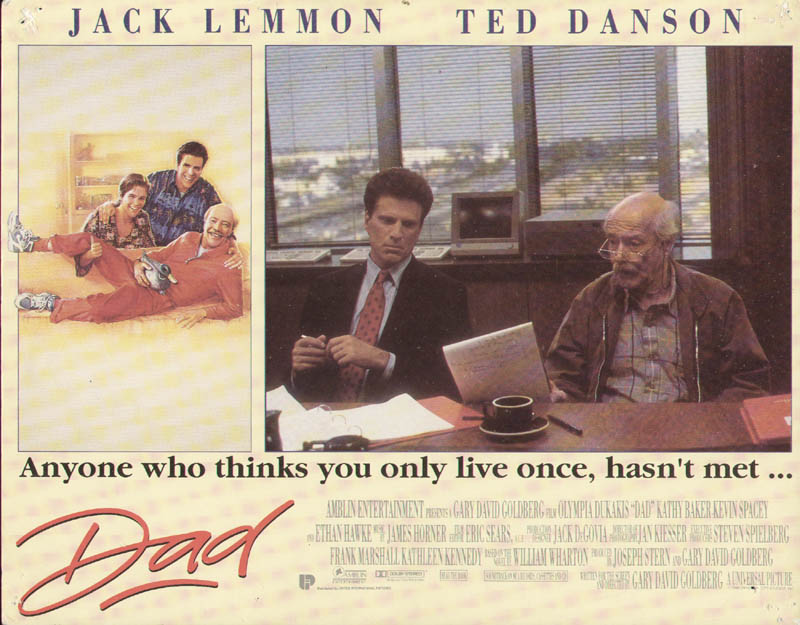 Image 1 for Dad Movie Cast - Lobby Card Unsigned (Usa) 1989 - HFSID 275609