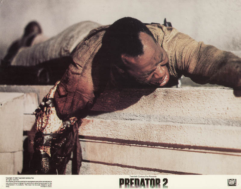 Image 1 for Predator 2 Movie Cast - Lobby Card Unsigned (Usa) 1990 - HFSID 275628