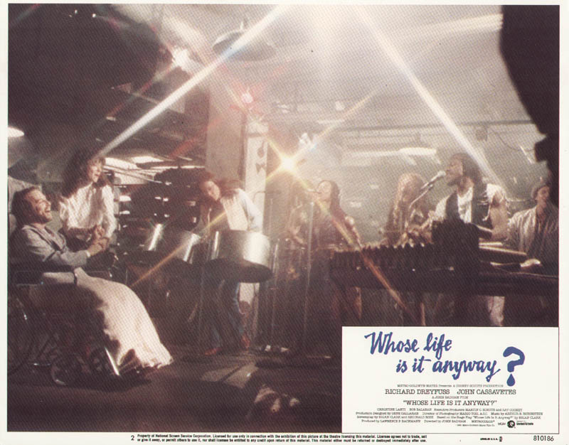 Image 1 for Whose Life Is It Anyway Movie Cast - Lobby Card Unsigned (Usa) 1981 - HFSID 275630