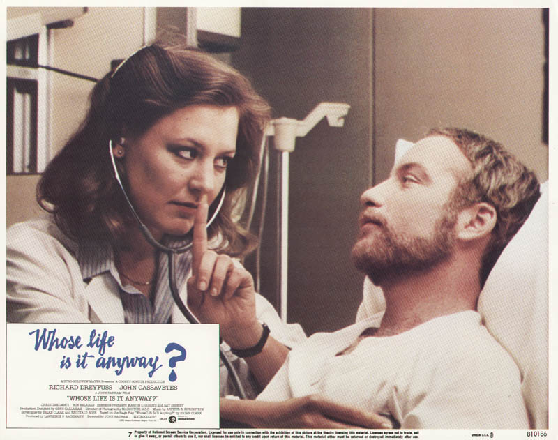 Image 1 for Whose Life Is It Anyway Movie Cast - Lobby Card Unsigned (Usa) 1981 - HFSID 275635