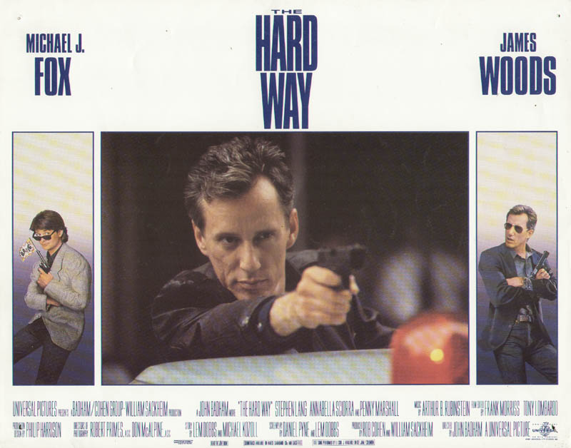 Image 1 for The Hard Way Movie Cast - Lobby Card Unsigned (Usa) 1991 - HFSID 275640