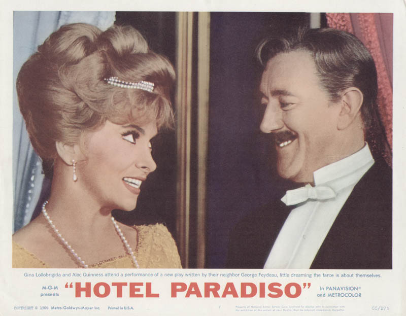 Image 1 for Hotel Paradiso Movie Cast - Lobby Card Unsigned (Usa) 1966 - HFSID 275678