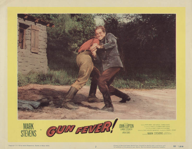 Image 1 for Gun Fever Movie Cast - Lobby Card Unsigned (Usa) 1958 - HFSID 275683