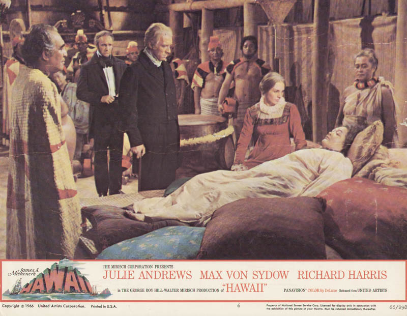 Image 1 for Hawaii Movie Cast - Lobby Card Unsigned (Usa) 1966 - HFSID 275732