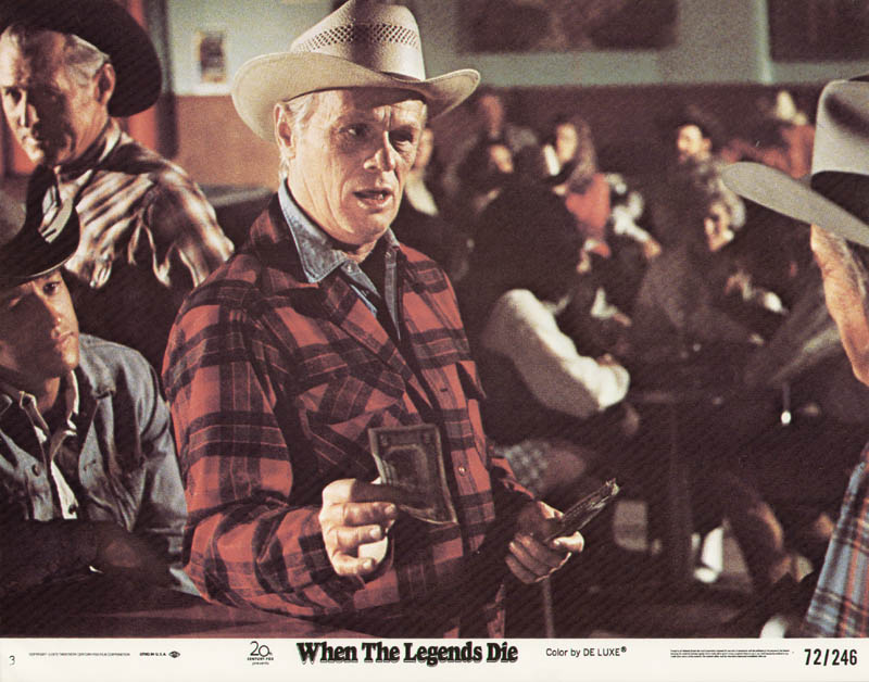 Image 1 for When The Legends Die Movie Cast - Lobby Card Unsigned (Usa) 1972 - HFSID 275741