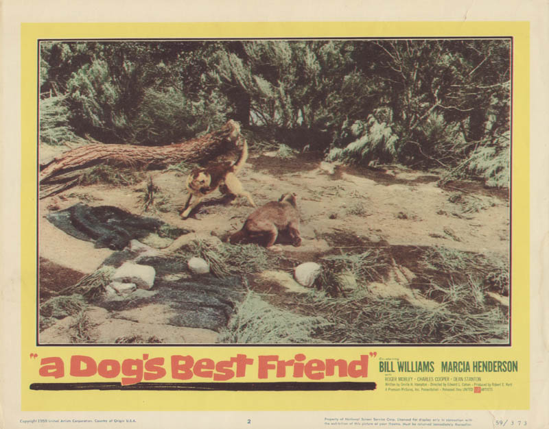 Image 1 for A Dog'S Best Friend Movie Cast - Lobby Card Unsigned (Usa) 1960 - HFSID 275789