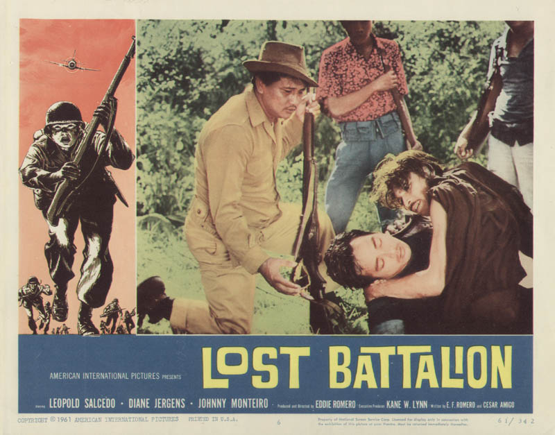 Image 1 for Lost Battalion Movie Cast - Lobby Card Unsigned (Usa) 1961 - HFSID 275801