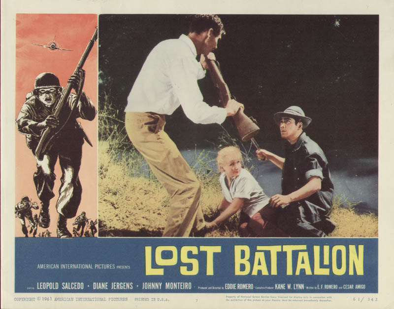 Image 1 for Lost Battalion Movie Cast - Lobby Card Unsigned (Usa) 1961 - HFSID 275802