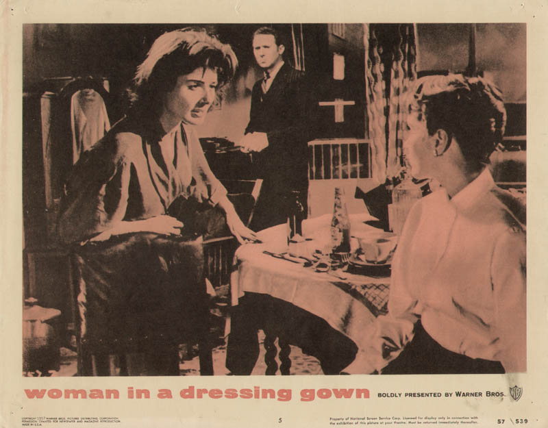 Woman In A Dressing Gown Movie Cast - Lobby Card Unsigned (usa) 1957 ...