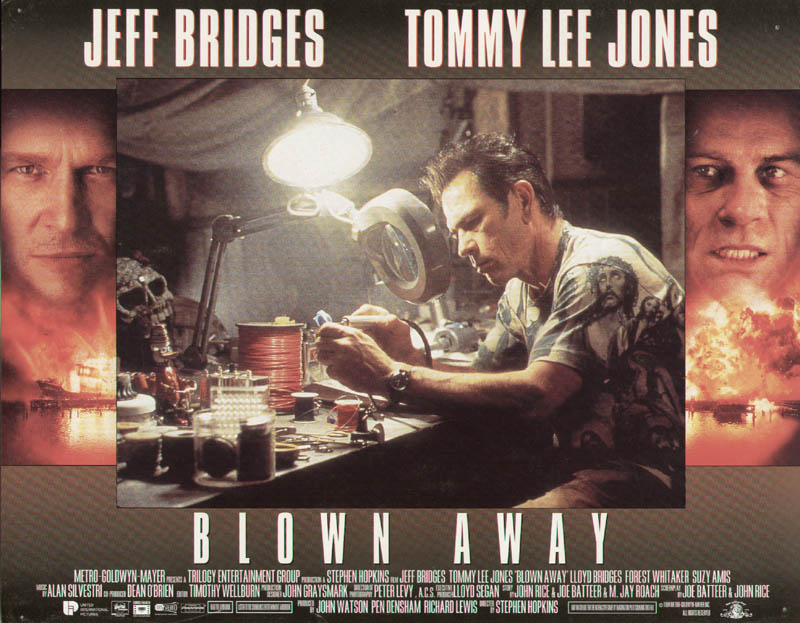 Image 1 for Blown Away Movie Cast - Lobby Card Unsigned (Usa) 1994 - HFSID 275873