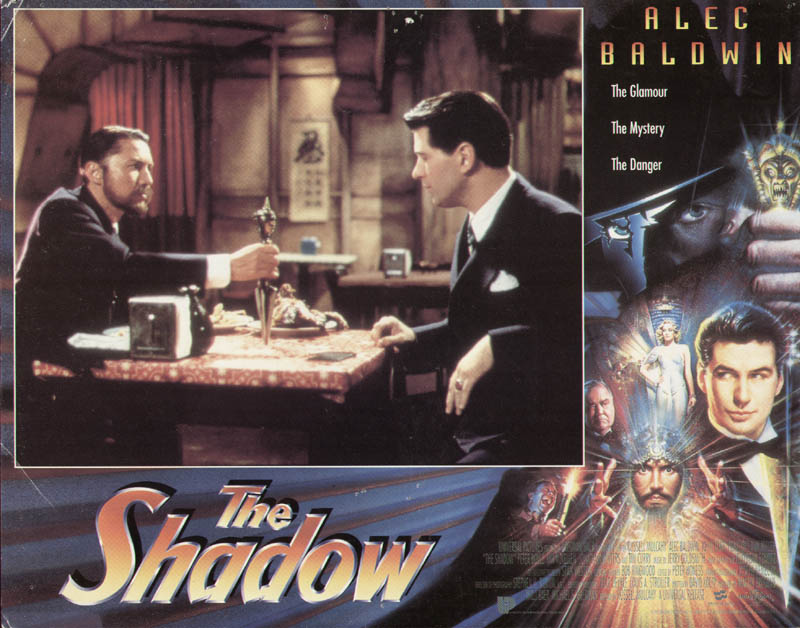 Image 1 for The Shadow Movie Cast - Lobby Card Unsigned (Usa) 1994 - HFSID 275900