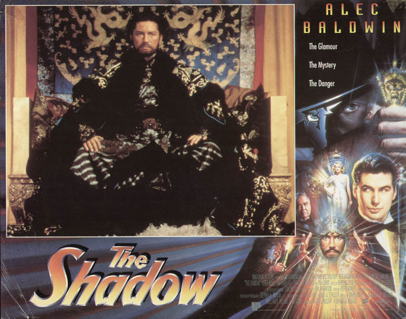 Image 1 for The Shadow Movie Cast - Lobby Card Unsigned (Usa) 1994 - HFSID 275901