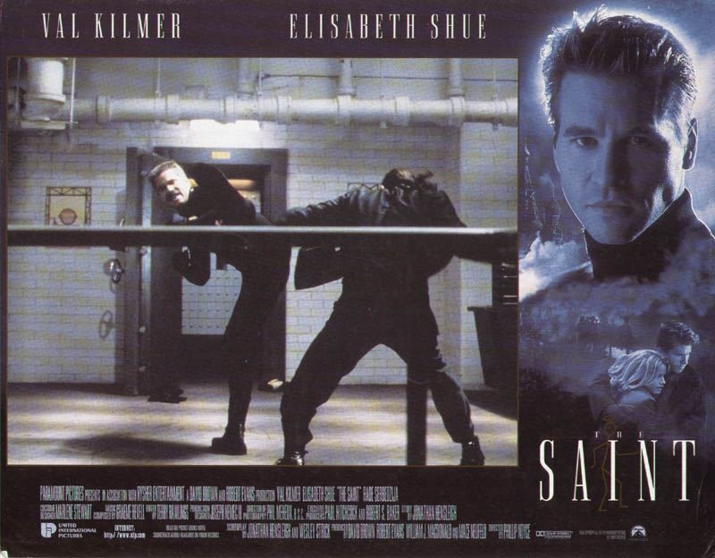 Image 1 for The Saint Movie Cast - Lobby Card Unsigned (Usa) 1997 - HFSID 275904