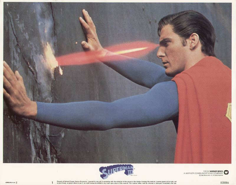 Image 1 for Superman III Movie Cast - Lobby Card Unsigned (Usa) 1983 - HFSID 275915