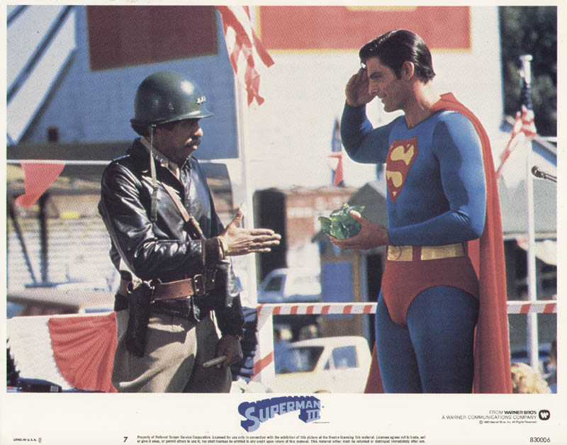 Image 1 for Superman III Movie Cast - Lobby Card Unsigned (Usa) 1983 - HFSID 275919