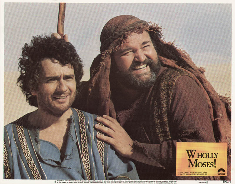 Image 1 for Wholly Moses Movie Cast - Lobby Card Unsigned (Usa) 1980 - HFSID 275926
