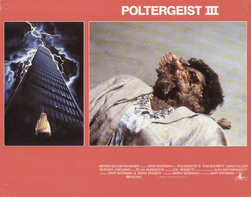 Image 1 for Poltergeist III Movie Cast - Lobby Card Unsigned (Usa) 1988 - HFSID 275962