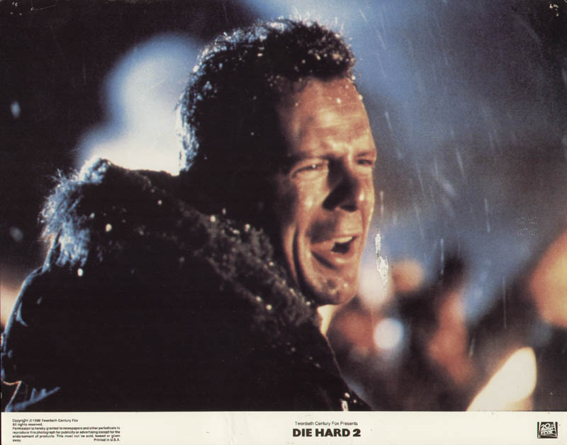 Image 1 for Die Hard 2 Movie Cast - Lobby Card Unsigned (Usa) 1990 - HFSID 275983