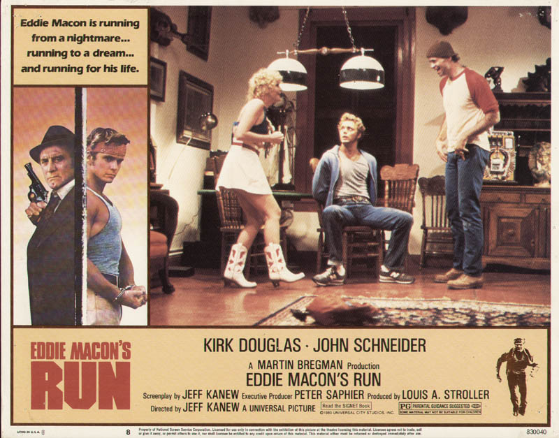 Image 1 for Eddie Macon'S Run Movie Cast - Lobby Card Unsigned (Usa) 1983 - HFSID 275990