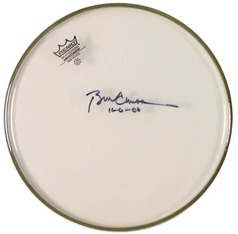 Image 1 for President William J. 'Bill' Clinton - Drumhead Signed 11/06/2006 - HFSID 276023