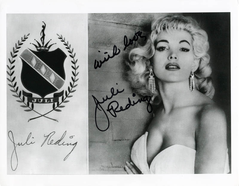 Image 1 for Juli Reding - Autographed Signed Photograph - HFSID 276139
